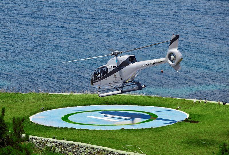 Santa Marina helipad